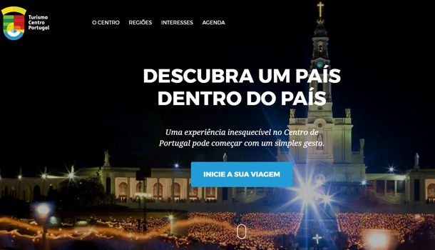 Turismo do Centro apresenta novo website