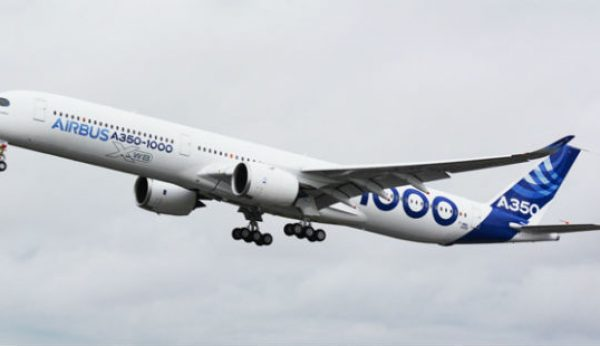 "A350-1000 completa ""Early Long Fight"" com êxito"