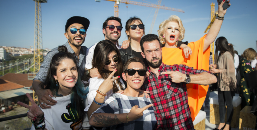 Os 100 influenciadores do Super Bock Digital Stage
