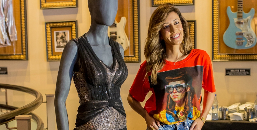 Vestido de Ana Moura é memorabilia do Hard Rock Cafe Lisboa