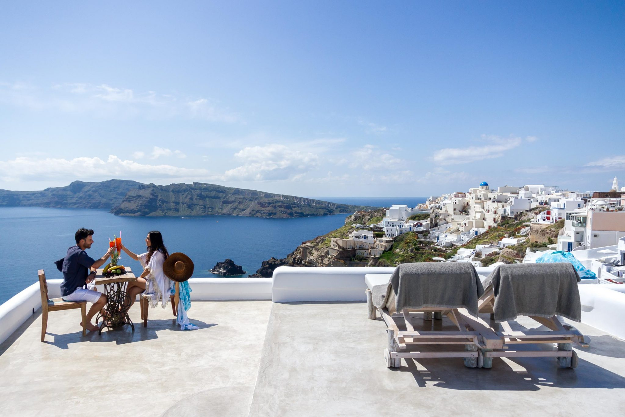 Andronis Luxury Suites: na terra dos deuses